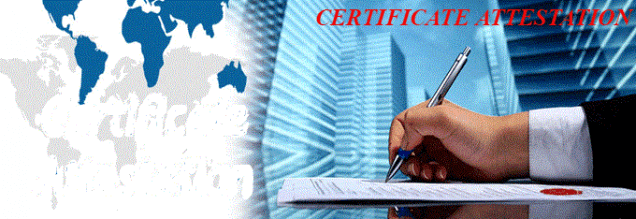 Procedure of Certificate Attestation in Pune|Mumbai