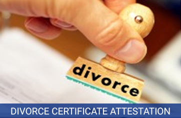 divorce certificate attestation services in india
