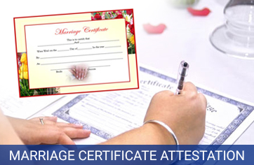 marriage certificate attestation services in india